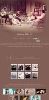 SHINee Journal Skin by Anysayuri