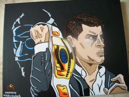 Cody Rhodes by CaptainMarvelous