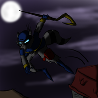 Rooftop jump sly cooper thing yeah. by themeguy