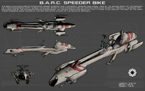 BARC Speeder Bike ortho [New] by unusualsuspex