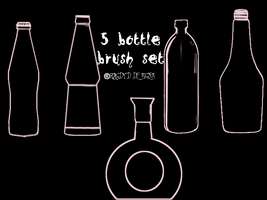 Bottle Brushes by RagdyDesigns