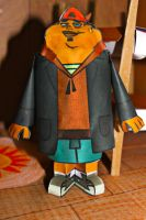 B TDROTI from Total Drama Papercraft by ViluVector