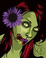 Zombie Julie by OllieJDesign