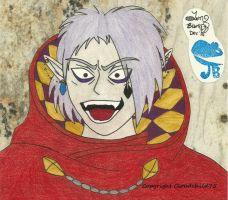 Ghirahim insane laugh by MaguschildCloud