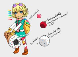Candy Cannon Tristana by Mega-Minx