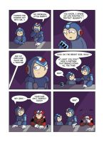 Despondent Mega Man - Have A Drink On Me by JesseDuRona