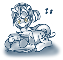 Commission: Chiptune Maestro by Fyrebeam