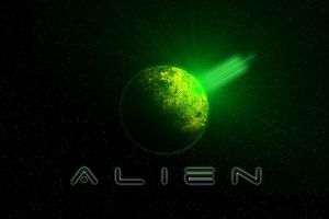 Alien Wallpaper by Drydareelin