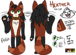 Heather (My Fursona) Ref for 2013 by Angiebutt