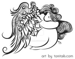 Angel by ToniTails