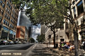 Downtown Austin Texas HDR by nat1874
