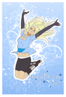 : Happy B-day my dear Hio : by Lala-Mot