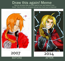 Draw This Again Meme by InnocenceShiro