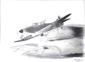 Boulton-Paul Defiant by Albeiho