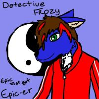 Gift for DetectiveFrozy by ZombieHighSchoolKid