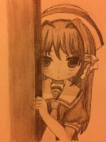 Clannad Little Kyou by snowflakeflower9