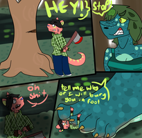 Foot squash- dryad of the swamp by Kaden-croc