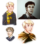 HP Doodles - Some RP Boys by trowicia