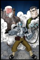 Atomic Robo Pin up colored by wonderfully-twisted
