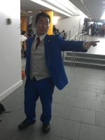 NYCC 2012: Phoenix Wright Objection Cosplay by DestinyDecade