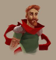 Hipster Don Quixte by kofab