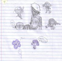 Notebook art-  Purple and more by Vocaloid-J4M