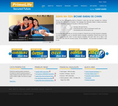 Layout for Life Insurance Company by harkalopchan