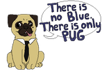 Only The Pug by Miiroku
