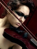The Red Violin by Crispey