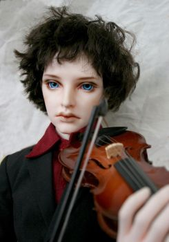 Another pic of BJD!Sherlock (BBC Sherlock) ^^ by degalaxis