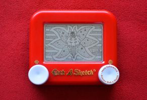 Volcarona Etch A Sketch by pikajane