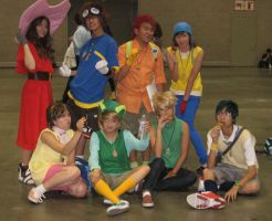 Digimon Season 1 Group by Sanctioned