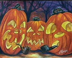 3 Punkins by ADazeDoodling