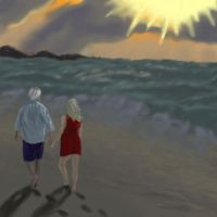 Walk on the Shore by Egnoramus