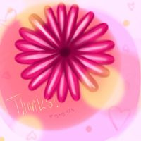 Thank You flower 4 by Yay-123