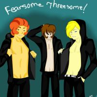 Fearsome Threesome by Ask-OcsHaven