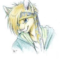 livestream drawing of Ray by oomizuao