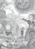 Alice in Wonderland - Part 1 by one-film-one-drawing