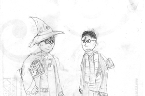 Stibbons and Potter by willmeister42