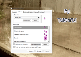 Cursor Albook Pink by TutosPixi