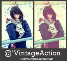 Vintage action by Hesavampire
