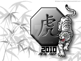 2010: Metal Tiger by cr0quis