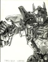 Optimus Prime by Tony0794