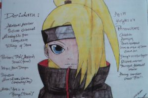 My Own Chibi Deidara by babydemoness