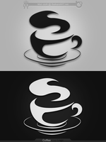 Logo Present - Coffee Cup by Mali-doN