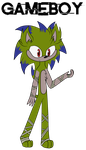 .:Gameboy the Hedgehog:. by Xbox-DS-Gameboy