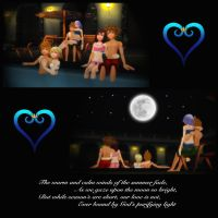 KH Pairings - Love at Summer's End by rev-rizeup