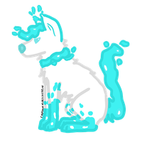 Lava Lamp Dog by Captain-Kirschstein