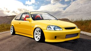 Honda Civic 6G Type-R by StankarCZ