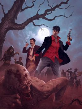 Dylan Dog by Atzinaghy